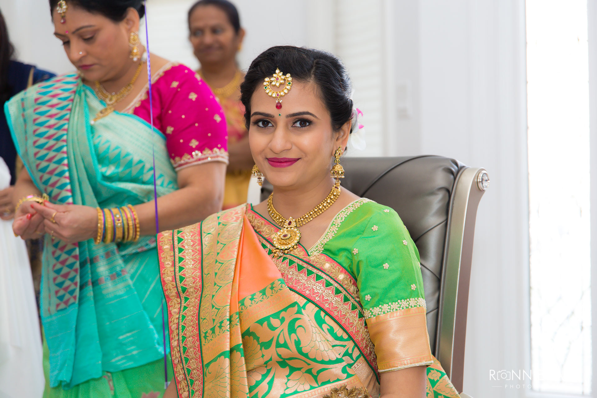 Traditional Indian Baby Shower Boston Puja Ceremony Ronnie Saini